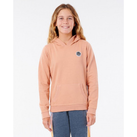 Mikina Rip Curl SURFERS ORG HOODIE - GIRL  Clay