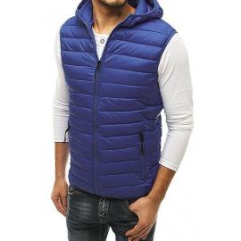 Pánská prošívaná vesta tmavě modrá TX3583