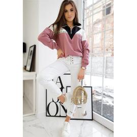 Bluza damska BLASER różowa BY0719
