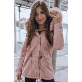 DESTONS női parkabát, rózsaszín TY1306z