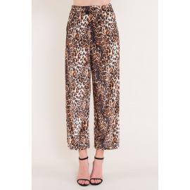 Kalhoty s potiskem BSL Brown panther