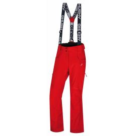 Dámské lyžařské kalhoty  Galti L jemná červená