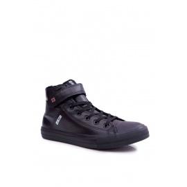 Men's Sneakers Big Star Warm Black Y174020FW
