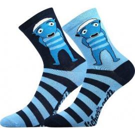 Dětské ponožky Boma modré (Lichožrouti-Hihlík)