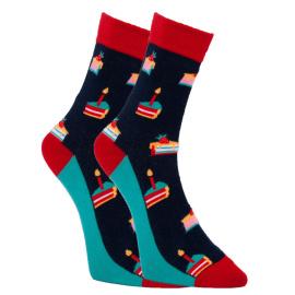 Veselé ponožky Dots Socks dorty (DTS-SX-460-G)