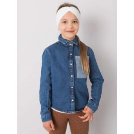 Biała opaska do włosów dla dziewczynki