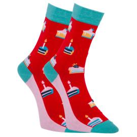Veselé ponožky Dots Socks dortíky (DTS-SX-461-W) M
