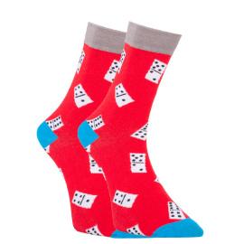 Veselé ponožky Dots Socks domino (DTS-SX-409-W) L