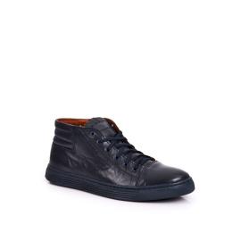 Men's Leather Shoes Trainers BEDNAREK Navy Blue