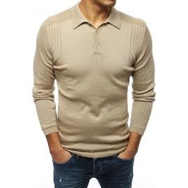 Men's beige sweater WX1420