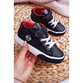 Children's High Sneakers Big Star EE374001 Black