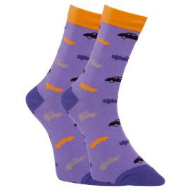 Veselé ponožky Dots Socks auta (DTS-SX-455-F) M