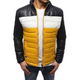 Black men's quilted jacket TX3194