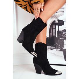 Women's Boots Suede Black Emporia