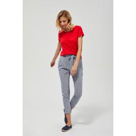Bawełniane spodnie w paski