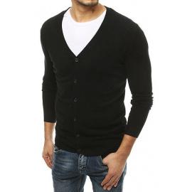 Sweter męski czarny WX1540