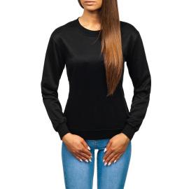 Női szabadidőpulóver Denley WB11002 - fekete,