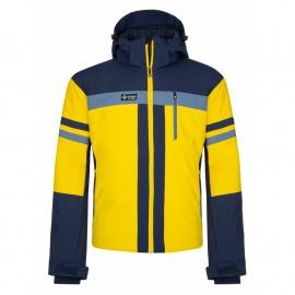 Men's ski jacket Ponte-m yellow - Kilpi