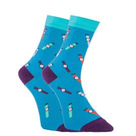 Veselé ponožky Dots Socks hodinky (DTS-SX-408-G) M