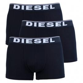 3PACK pánské boxerky Diesel černé (00ST3V-0JKKB-E4101)