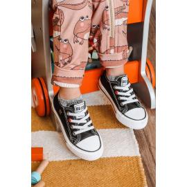 Children's Classic Low Sneakers BIG STAR HH374090 Black