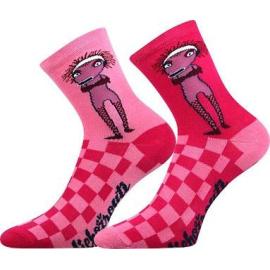 Dětské ponožky Boma růžové (Lichožrouti-Žiletka)