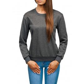 Damska bluza Denley WB11002 - ciemnoszara,