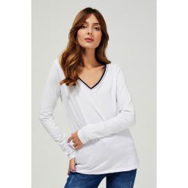 Bawełniana bluzka - biały