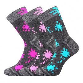 3PACK dětské ponožky Voxx vícebarevné (Hawkik-mix holka)