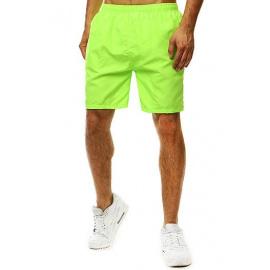 Green men's swimming shorts SX2075