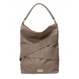 BADURA Béžová velká taška