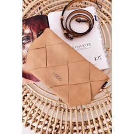 Clutch Bag With A Detachable Strap NOBO NBAG-K1260 Beige