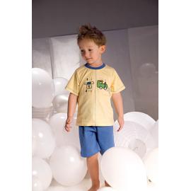 Pyžamo pro chlapce Samuel 2973 žluto-modré