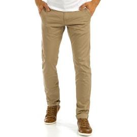 Men's beige chino trousers UX0876