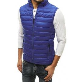Pánská prošívaná vesta tmavě modrá TX3587
