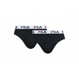 2PACK pánské slipy Fila černé (FU5015/2-200)