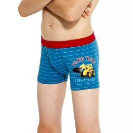 Dětské boxerky Cornette Kids modré (701/76)
