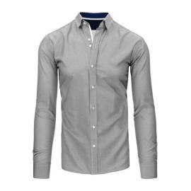 Men's white and black striped shirt DX1495