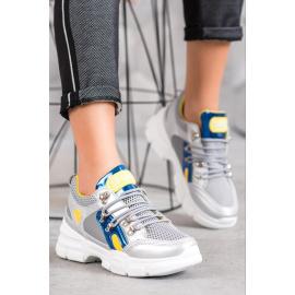 FASHION hálóval bevont sneakers