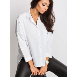 Bílé tričko RUE PARIS s nápisem